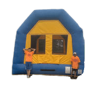 Blue/Yellow Bounce House