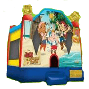 Jake & Neverland Pirates Bounce House