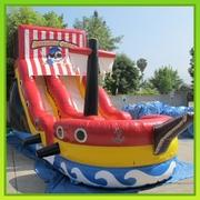 18 Ft Pirate Ship Slide