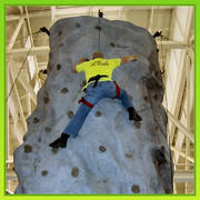 24ft Rock wall