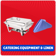 Catering Equipment and Linen