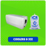 Coolers and Ice