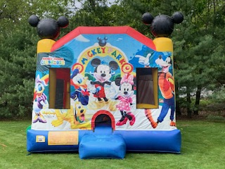 Bounce house Mickey Rhode island