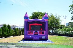 Purplush Bounce House (W/Basketball hoop)