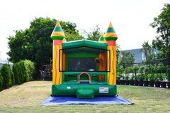 Fiesta Fiesta Bounce House (W/Basketball hoop)