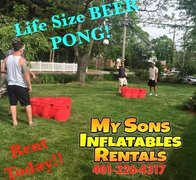 Life Size Beer Pong