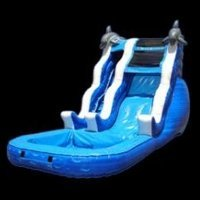 16 ft. Wave  Slide with Pool