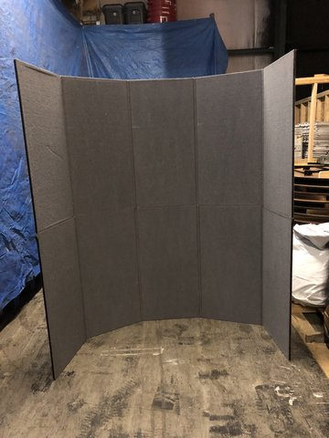 8ft Tall Portable Wall
