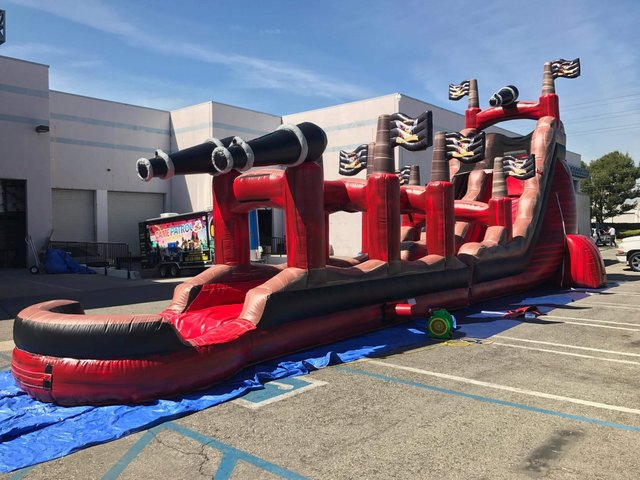 25' Pirate Slide/Slip-N-Slide