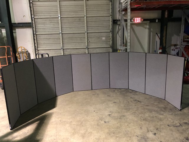 4' Tall Portable Wall