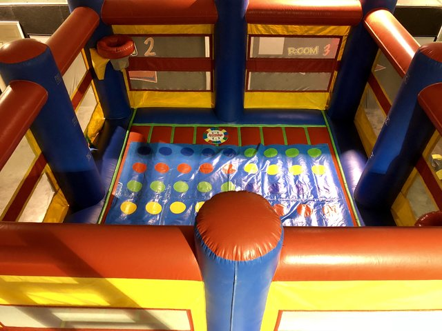 Twister Game Mat ONLY for Bounce House