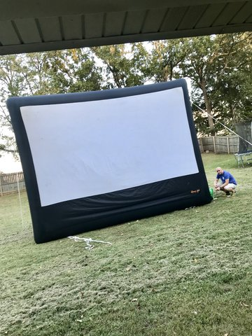 18' Inflatable Movie Screen
