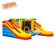 8ft Rainforest Rapids Inflatable Combo Wet or Dry