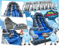20ft Avalanche Water Slide