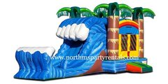 Cowabunga Bounce House Slide Combo Wet or Dry