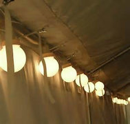 Large Globe Tent Lights
