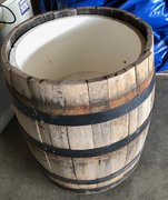 Whiskey Barrel Cooler