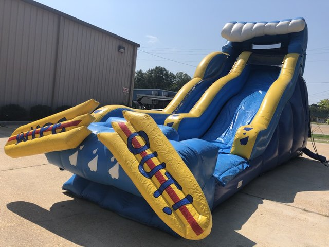 19ft Wipe-Out Slide Wet or Dry