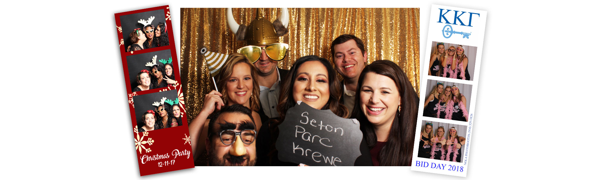 NOLA Photo Booth Rental | NolaPhotoBooths com New Orleans LA
