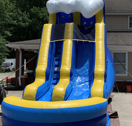 15ft Tsunami Water Slide