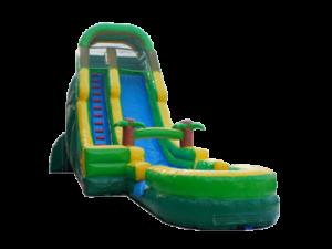 Tropical 24ft Water Slide