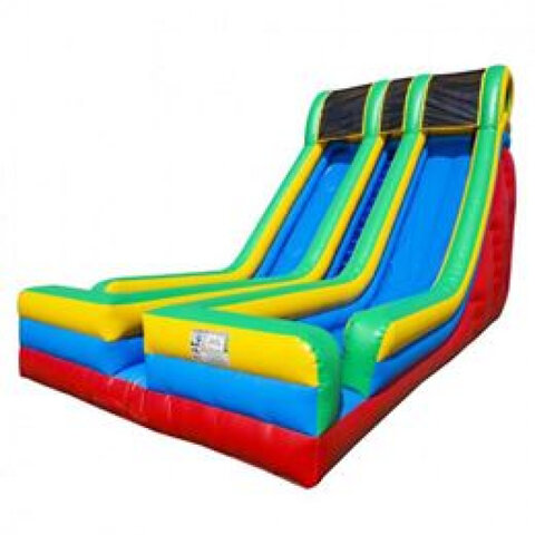 24ft Xtreme Dual Lane Dry Slide