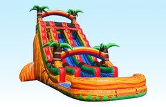 24ft Tropical Paradise Waterslide