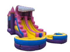 Princess Palace Dual Lane Waterslide
