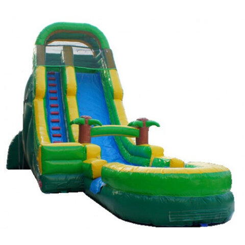 Tropical 24ft Dry Slide