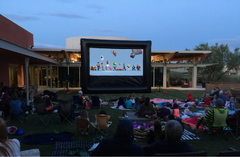 Giant Inflatable Movie Night (16