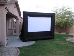 Backyard Inflatable Movie Screen (5