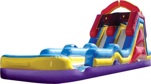 18' Monster Splash Dual Lane Slide (dry)