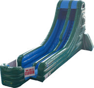 18' Green Big Splash slide