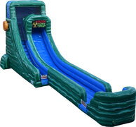 20ft Caustic Drop Water Slide