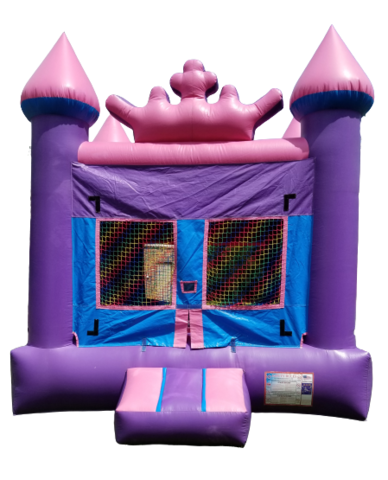 Purple / Pink Crown Bounce House