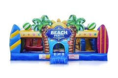 Beach Party Toddler Play Yard