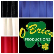 Satin Drape Color Options