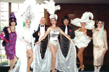 O'Brien Productions Party Rental Roaring 20's Entertainer