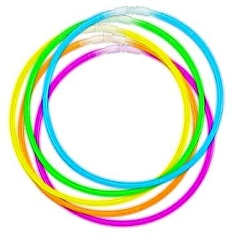 Movie Night Theme Party - Glow Necklaces