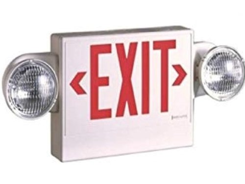 Tent - Exit Sign Lighted
