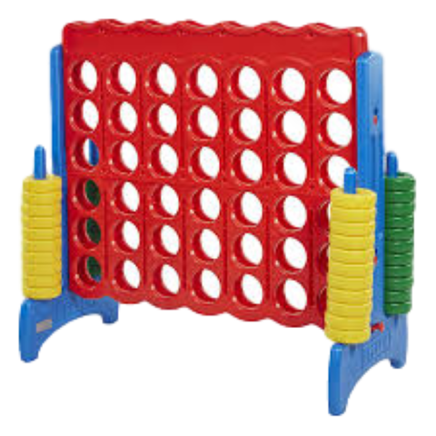 Yard Games - Primary Colored Large Connect Four