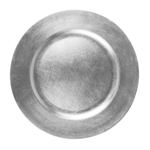 Catering Supplies - Charger - Silver Charger Plate