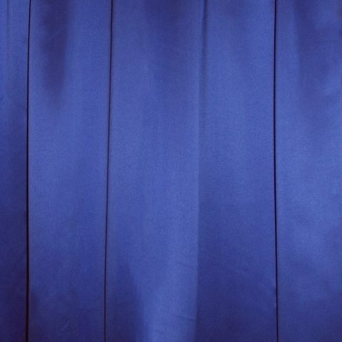 Drape Satin Blue