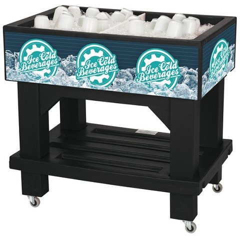 Rolling Ice Bin - Medium