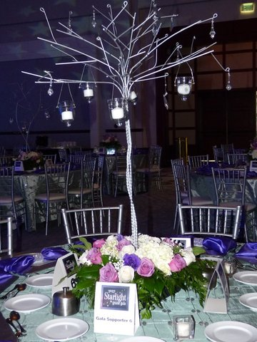 Centerpiece - Metal Tree