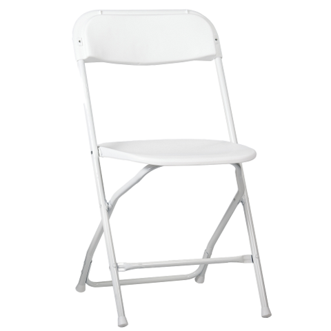 Chairs - White Samsonite