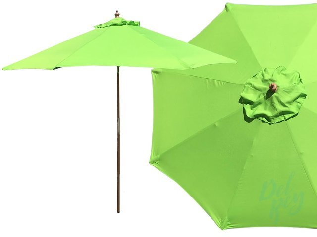 Umbrellas - 7.5' Market Umbrella - Green