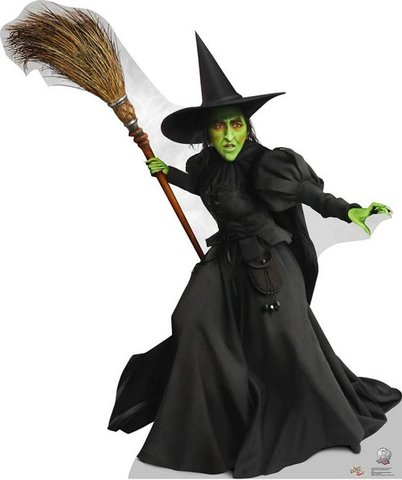 Wizard of Oz Witch Prop