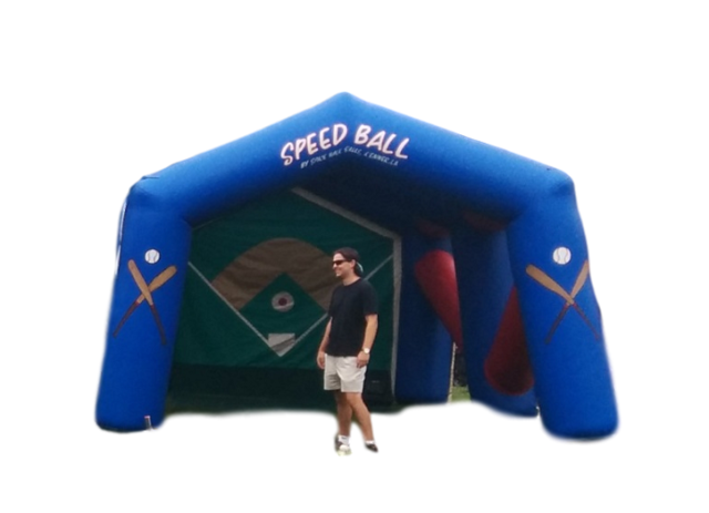 Inflatable - Baseball - Radar Speed Pitch with Speed Gun