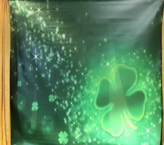 Backdrop - St. Patrick Backdrop